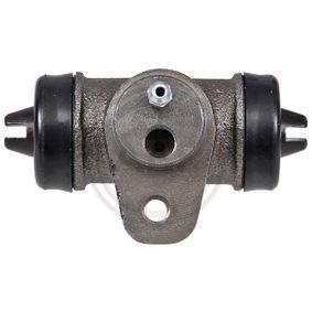 Radbremszylinder Ø: 23,8mm mit OEM-Nummer 211 611 047 D