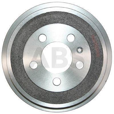 A.B.S.  2765-S Bremstrommel Br.Tr.Durchmesser außen: 240mm, Felge: 5-loch