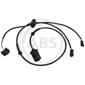 ABS Sensor VW PASSAT Variant (3B6) 1.9 TDI 130 PS ab 11.2000 A.B.S. Sensor, Raddrehzahl (30021) für