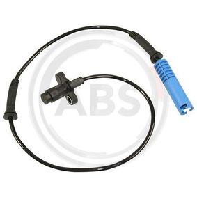 Sensor, Raddrehzahl Länge: 661mm mit OEM-Nummer 34 52 0 025 723