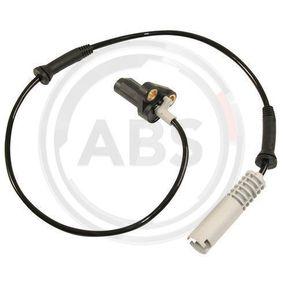 Sensor, Raddrehzahl Länge: 635mm mit OEM-Nummer 34521182159