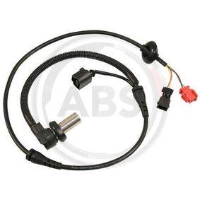 ABS Sensor VW PASSAT Variant (3B6) 1.9 TDI 130 PS ab 11.2000 A.B.S. Sensor, Raddrehzahl (30122) für