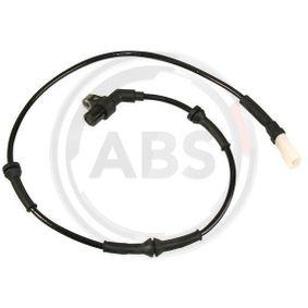 Sensor, Raddrehzahl Länge: 795mm mit OEM-Nummer 97KG2B3-72AA