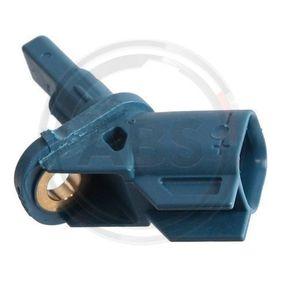 Sensor, Raddrehzahl Länge: 43mm mit OEM-Nummer 3M5T2 B372 AB