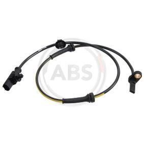 Sensor, Raddrehzahl Länge: 800mm mit OEM-Nummer 4545-E1