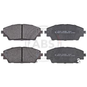 Brake Pad Set, disc brake Width 1: 142mm, Height 1: 55,7mm, Thickness 1: 15,8mm with OEM Number BHY1-33-28ZA 9C