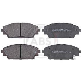 Brake Pad Set, disc brake Article № 35022 £ 140,00
