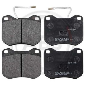 Brake Pad Set, disc brake Article № 36107 £ 140,00