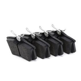 Bremsbelagsatz, Scheibenbremse Breite 1: 87mm, Höhe 1: 52,9mm, Dicke/Stärke 1: 15mm mit OEM-Nummer 1H0698451B