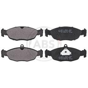 Комплект спирачно феродо, дискови спирачки 36771 Corsa B Хечбек (S93) 1.4i 16V (F08, F68, M68) Г.П. 2000