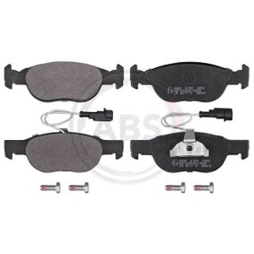 Brake Pad Set, disc brake 36892 PUNTO (188) 1.2 16V 80 MY 2002
