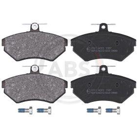 Bremsbelagsatz, Scheibenbremse Breite 1: 118,9mm, Höhe 1: 69,5mm, Dicke/Stärke 1: 16mm mit OEM-Nummer 1HM698151A