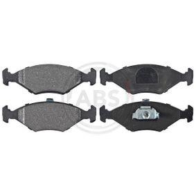 Bremsbelagsatz, Scheibenbremse Breite 1: 151,3mm, Höhe 1: 52,5mm, Dicke/Stärke 1: 18,3mm mit OEM-Nummer 994 8131