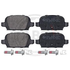 Bremsbelagsatz, Scheibenbremse Breite 1: 95,8mm, Höhe 1: 43,9mm, Dicke/Stärke 1: 14mm mit OEM-Nummer 9200132