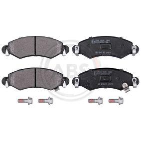 Bremsbelagsatz, Scheibenbremse Breite 1: 130,8mm, Höhe 1: 44,5mm, Dicke/Stärke 1: 15,5mm mit OEM-Nummer 47 04 578