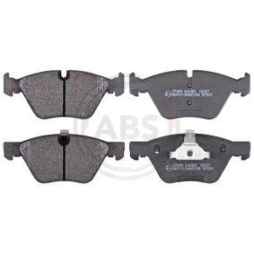 Brake Pad Set, disc brake 37409 3 Saloon (E90) 330d 3.0 MY 2006