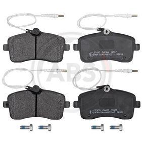 Bremsbelagsatz, Scheibenbremse Breite 1: 131,5mm, Höhe 1: 67,5mm, Dicke/Stärke 1: 19,7mm mit OEM-Nummer 4254-22
