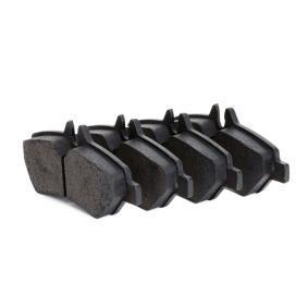 Bremsbelagsatz, Scheibenbremse Breite 1: 136,8mm, Höhe 1: 63mm, Dicke/Stärke 1: 19,0mm mit OEM-Nummer 2 E06 984 51