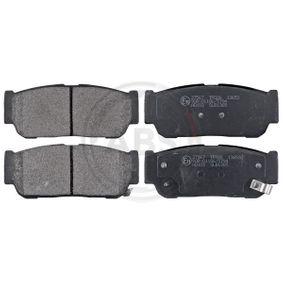 2015 KIA Sorento jc 2.5 CRDi Brake Pad Set, disc brake 37567
