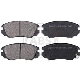 Bremsbelagsatz, Scheibenbremse Breite 1: 131,4mm, Höhe 1: 59,7mm, Dicke/Stärke 1: 19,1mm mit OEM-Nummer 1605 624
