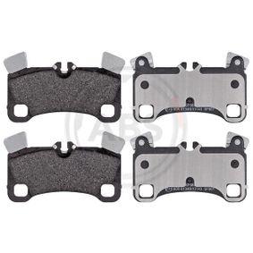 Bremsbelagsatz, Scheibenbremse Breite 1: 132,1mm, Höhe 1: 77mm, Dicke/Stärke 1: 16,6mm mit OEM-Nummer 95535293961