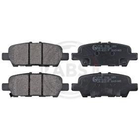Nissan Juke f15 1.2 DIG-T Bremsbeläge A.B.S. 37745 (1.2 DIG-T Benzin 2015 HRA2DDT)