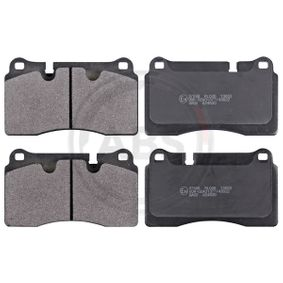 Brake Pad Set, disc brake 37898 DB9 Convertible 6.0 MY 2012