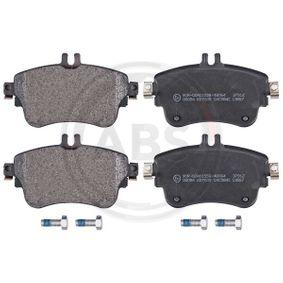 Bremsbelagsatz, Scheibenbremse Breite 1: 129,0mm, Höhe 1: 71,5mm, Dicke/Stärke 1: 19,0mm mit OEM-Nummer A008 420 0420