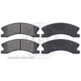Bremsbelagsatz, Scheibenbremse Breite 1: 157,6mm, Höhe 1: 60,5mm, Dicke/Stärke 1: 19,3mm mit OEM-Nummer 5093260AA