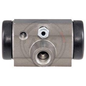 Radbremszylinder Ø: 17,5mm mit OEM-Nummer 77 01 047 838