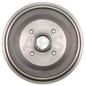 Bremstrommel Br.Tr.Durchmesser außen: 286mm, Felge: 4-loch mit OEM-Nummer 147501615A