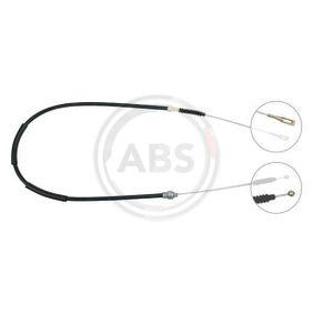 A.B.S. Seilzug, Feststellbremse K10056 für AUDI 100 (44, 44Q, C3) 1.8 ab Baujahr 02.1986, 88 PS