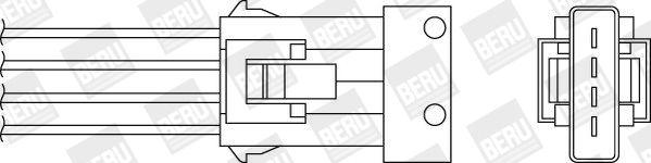 Regelsonde BERU 0824010295 Bewertung