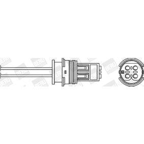 Lambdasonde Kabellänge: 350mm mit OEM-Nummer 11787 539 137