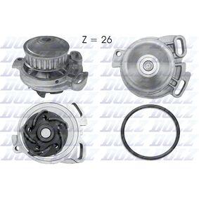 DOLZ Wasserpumpe A152 für AUDI 90 (89, 89Q, 8A, B3) 2.2 E quattro ab Baujahr 04.1987, 136 PS