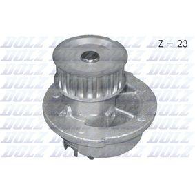 Wasserpumpe mit OEM-Nummer 1334 046