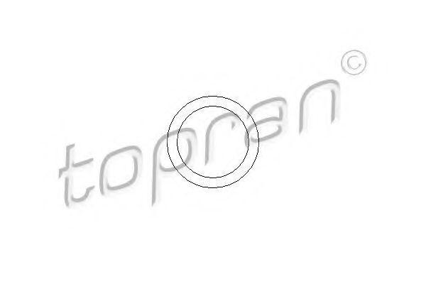 TOPRAN  101 474 Dichtung, Unterdruckpumpe