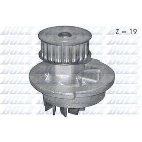 Wasserpumpe mit OEM-Nummer 96350799