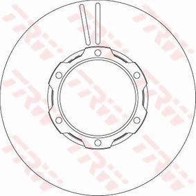 Bremsscheibe Bremsscheibendicke: 8,2mm, Lochanzahl: 6, Ø: 304mm mit OEM-Nummer 669 421 0612