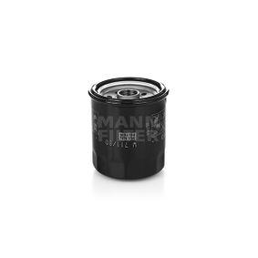 Ölfilter Ø: 76mm, Außendurchmesser 2: 71mm, Innendurchmesser 2: 62mm, Innendurchmesser 2: 62mm, Höhe: 89mm mit OEM-Nummer 480-1012010