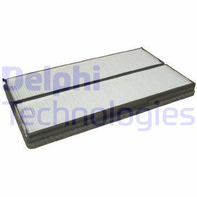 Filter, Innenraumluft Länge: 358mm, Breite: 195mm, Höhe: 27mm mit OEM-Nummer 002-835-0847