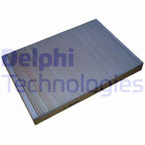 DELPHI Filter, Innenraumluft TSP0325112 für AUDI A4 Cabriolet (8H7, B6, 8HE, B7) 3.2 FSI ab Baujahr 01.2006, 255 PS
