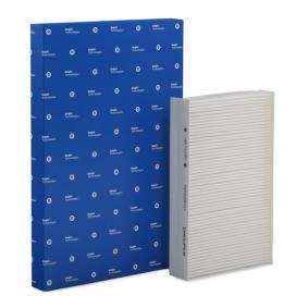 Filter, Innenraumluft Länge: 285mm, Breite: 180mm, Höhe: 30mm mit OEM-Nummer 6447-KR