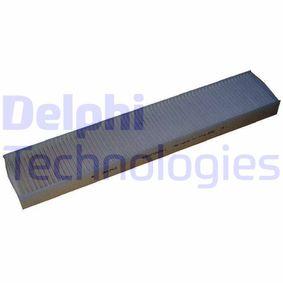 Filter, Innenraumluft Länge: 512mm, Breite: 98mm, Höhe: 35mm mit OEM-Nummer 7180932