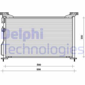 Кондензатор, климатизация TSP0225092 800 (XS) 2.0 I/SI Г.П. 1997
