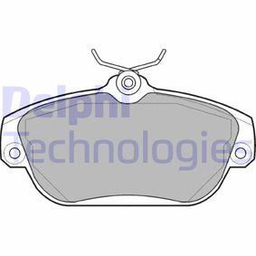 Bremsbelagsatz, Scheibenbremse Art. Nr. LP919 120,00€