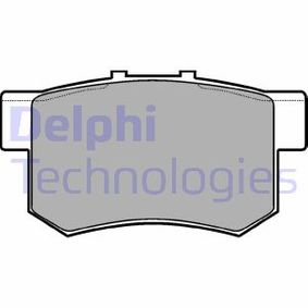 DELPHI Remblokkenset, schijfrem LP948 met OEM Nummer SFP000080