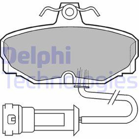 Bremsbelagsatz, Scheibenbremse Höhe: 54mm, Dicke/Stärke 2: 14mm mit OEM-Nummer 1 111 283