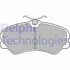 Bremsbelagsatz, Scheibenbremse Höhe: 72mm, Dicke/Stärke 2: 18mm mit OEM-Nummer 9 940 999