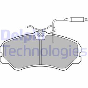 Bremsbelagsatz, Scheibenbremse Höhe: 72mm, Dicke/Stärke 2: 18mm mit OEM-Nummer 9945076